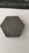 hexagonal boron carbide tiles