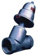 Y shape pneumatic cut off valve