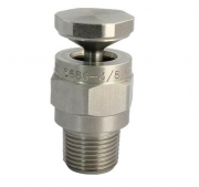 deflection hollow cone spray nozzle